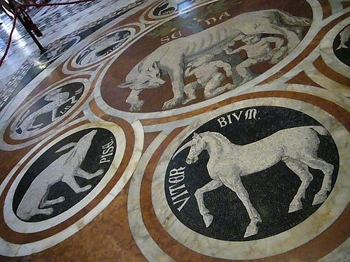 Siena, Dom Detail