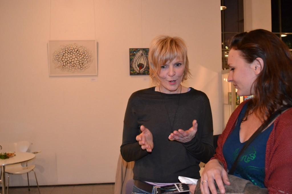 Apertura della mostra di Doris Scheuermann