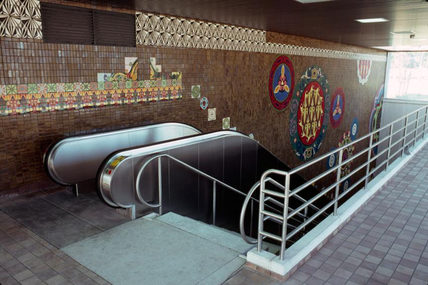Humboldt Hospital Station, Buffalo - Joyce Kozloff