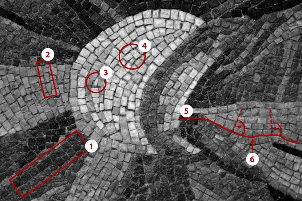 Mosaik römische Technik - Fioccho Aquileia