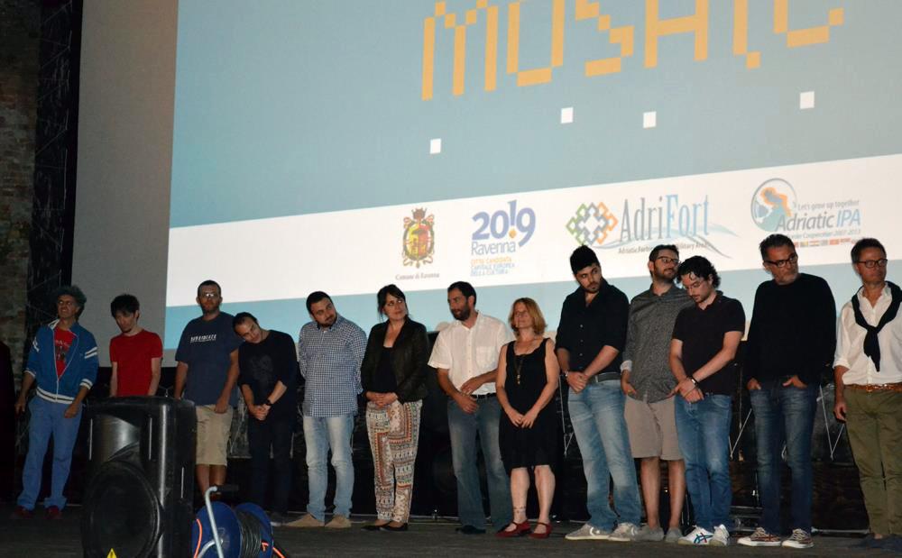 Preisverleihung Visual Mosaics, 2014