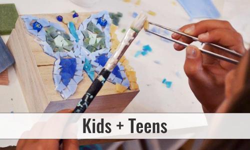 mused Mosaic Workshop Children