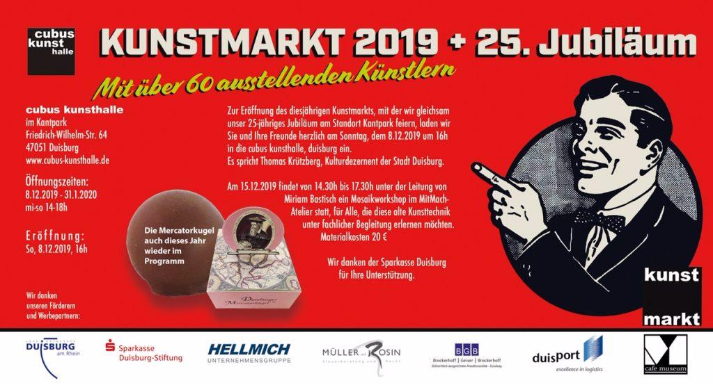 Cubus Kunstmarkt 2019 Duisburg