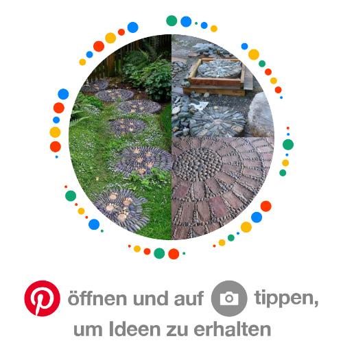 Pinterest Pinnwand Rheinkiesel