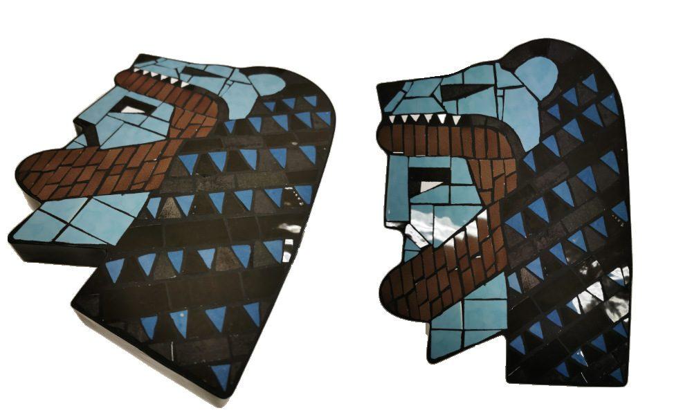 Herakles Mosaik Gymnasium Benrath