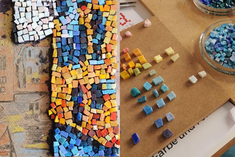 Farbe und Form Workshop